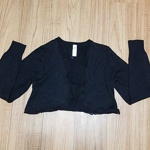 Justice cardigan for girl size 18